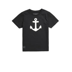 ANCHOR T-SHIRT BLACK