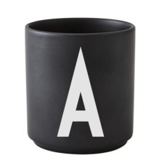 Black cups A-Z