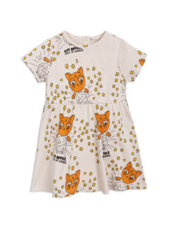 Cat advice ss dress beige