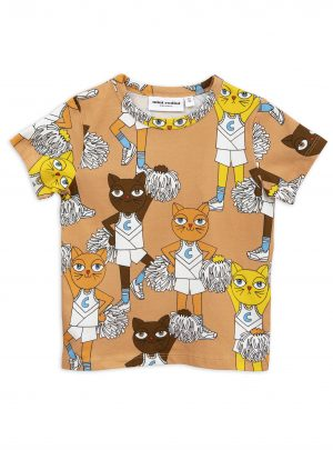 Beige Cheercats ss tee