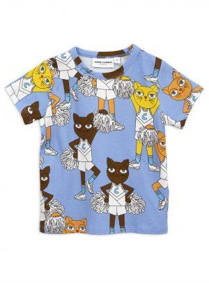 Blue Cheercats ss tee