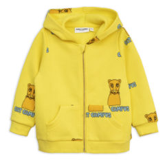 Yellow Cat campus zip hood