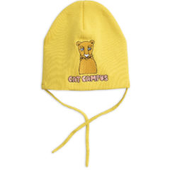 Yellow Cat campus patch hat