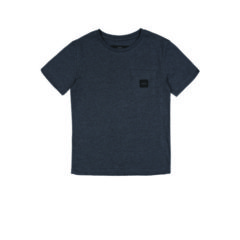 SQUARE POCKET T-SHIRT DARK GREY
