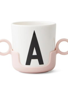 Handle for melamine cup PINK