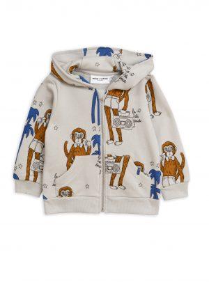 Cool monkey aop zip hood – Drop 1
