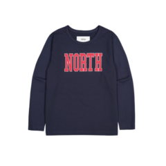 NORTH LONG SLEEVE DARK NAVY