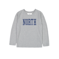 NORTH LONG SLEEVE GREY