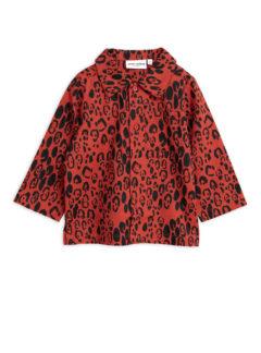Leopard woven shirt