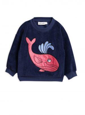 Whale sp terry sweatshirt