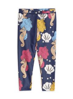 Seahorse shiny UV leggings