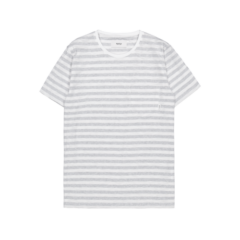 Verkstad T-Shirt Light Grey White ADULTS