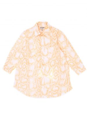 SIERRA SHIRT DRESS Snake pink