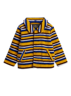 Velour stripe jacket