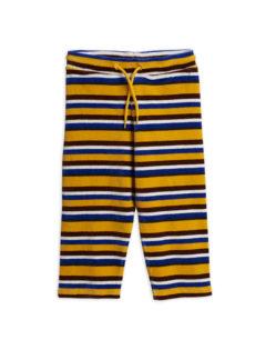 Velour stripe trouser