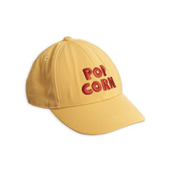 Pop corn embroidery cap