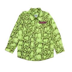 JAY SHIRT Snake green