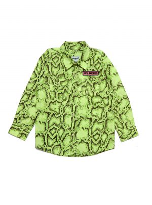 JAY SHIRT Snake green