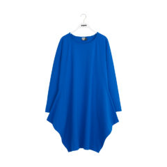 KANTO DRESS SOLID JERSEY VIVID BLUE