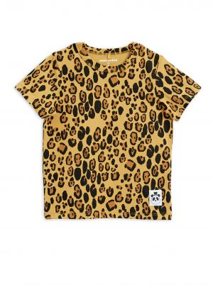 Basic leopard ss tee
