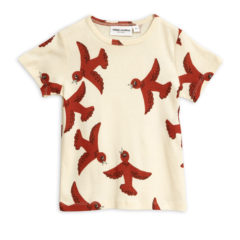 Flying birds ss tee OFFWHITE