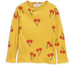 Cherry ls tee YELLOW
