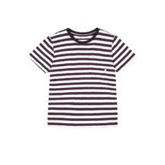 Verkstad T-Shirt Wine-White