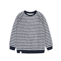 Algot Sweatshirt NAVY WHITE