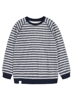 Algot Sweatshirt NAVY WHITE