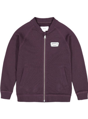 Emblem Sweatshirt Wine