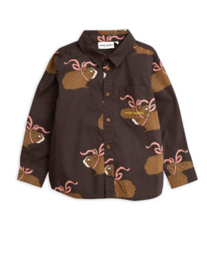 Posh guinea pig shirt BROWN