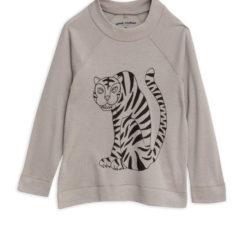 Tiger sp wool ls tee GREY