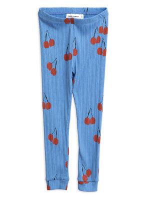 Cherry leggings BLUE