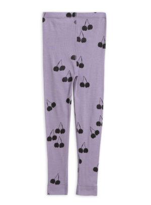 Tiger sp wool leggings purple