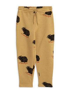 Guinea pig sweatpants beige