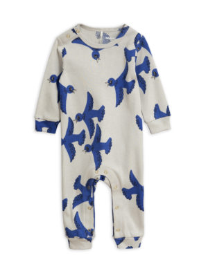 Flying birds jumpsuit LIGHT GREY