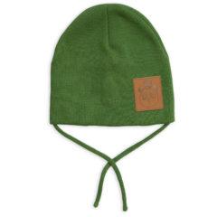 Panda hat green
