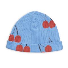 Cherry baby beanie BLUE