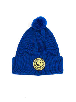 LUCY BEANIE Electric blue