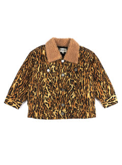 PEGGY DENIM JACKET Leopard