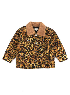 PEGGY DENIM JACKET Leopard