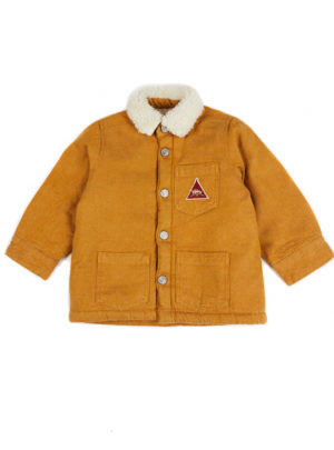 TONY WORKER JACKET MUSTARD