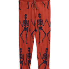 Skeleton aop trousers RED