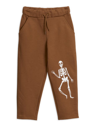 Skeleton sp sweatpants BROWN