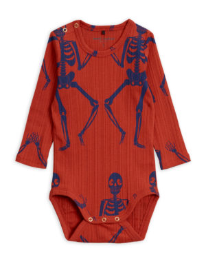 Skeleton aop ls body RED