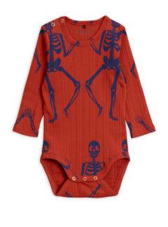 Skeleton aop ls body RED
