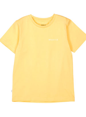 Trim t-shirt Yellow
