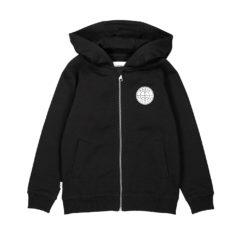 Esker hooded sweatshirt Black