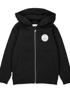 Esker hooded sweatshirt Black