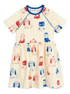 Minibaby aop ss dress